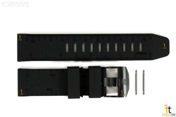 Luminox Recon II NAV 8830 23mm Black Rubber Watch Band w/2 Pins 8840 - Forevertime77