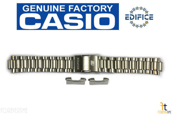 CASIO ESQ-500DB Edifice Stainless Steel Metal Watch Band Strap EQWM-600 EQWT-610 - Forevertime77
