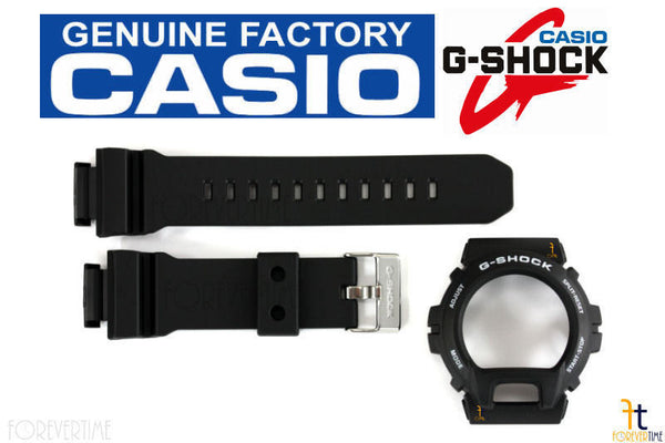 CASIO G-Shock GD-X6900-7 Original Black Rubber BAND & BEZEL Combo - Forevertime77