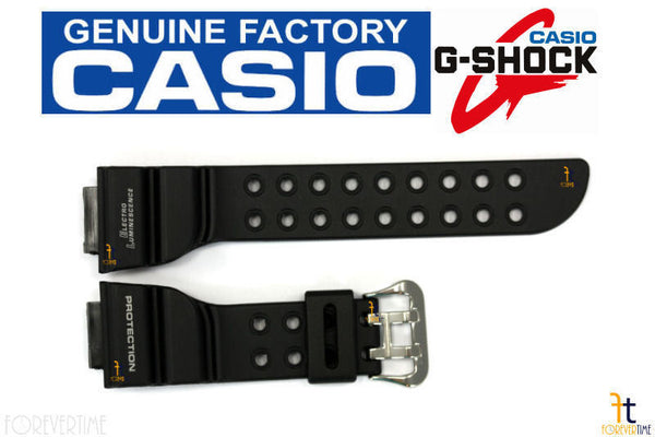 CASIO DW-8200BK G-Shock FROGMAN 18mm Black Rubber Watch BAND Strap DW-8200 - Forevertime77