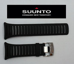 Suunto Core ORIGINAL ELASTOMER Light Black Rubber Watch BAND Strap