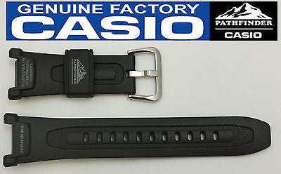 CASIO Pathfinder Pro-Trek PAG-240 18mm Original Black Rubber Watch BAND PAG-40 - Forevertime77