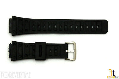 18mm Fits CASIO G-Shock DW-5600C Black Plastic Watch BAND Strap DW-5200 DW-5700C - Forevertime77