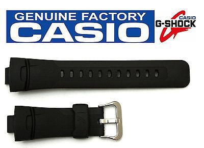 CASIO G-Shock GW-1500 16mm Original Black Rubber Watch BAND Strap GW-1500A - Forevertime77