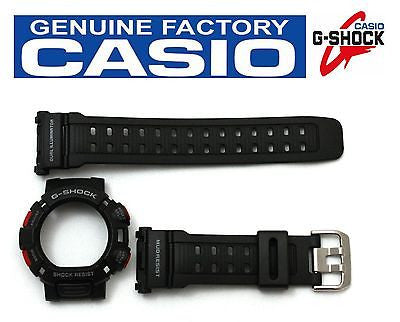 CASIO G-Shock Mudman Original G-9000 Black BAND & BEZEL Combo - Forevertime77