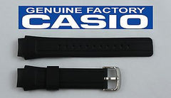 CASIO AMW-701 Original Hunting Timer Black Rubber Watch BAND Strap 2 Spring Bars