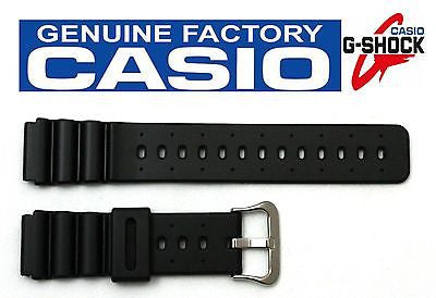 Casio 70612257 Genuine Factory Replacement Black Rubber Watch Band fits DW-2500C DW-4000 DW-401 DW-403 DW-4100C DW-6400C DW-7000C DW-7200C DW-8300 MD-753C - Forevertime77
