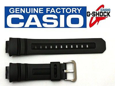 CASIO G-Shock G-7700 16mm Original Black Rubber Watch BAND Strap G-7710 - Forevertime77