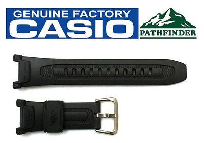 CASIO PRO TREK Pathfinder PAG-240-8 Original Charcoal Rubber Watch BAND Strap - Forevertime77
