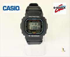 Casio G-Shock DW5600 RARE Black Limited Edition Vintage Divers Watch