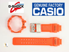 Genuine CASIO GW-A1100-4A G-Shock GravityMaster BAND & BEZEL Combo Orange