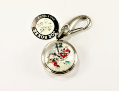 "Joe Boxer ""All I Want"" Santa Pocket Watch with Floating Snow & Presents"