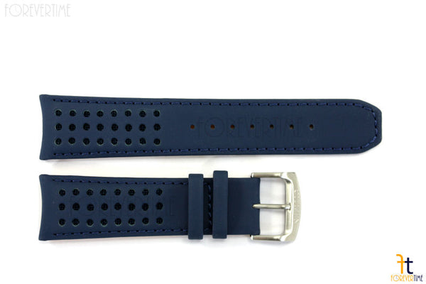 Citizen 59-S52543 Original Replacement 23mm Blue Leather Watch Band Strap - Forevertime77