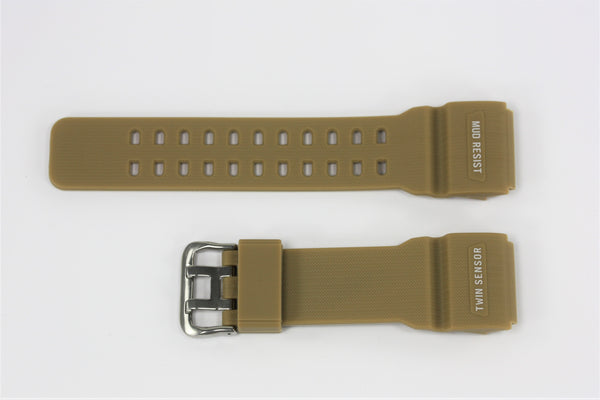 CASIO G-SHOCK FITS Mudmaster GG-1000-1A5 Tan Rubber Watch Band Strap - Forevertime77