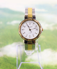 Carl-Ange Swiss Made Two-tone Men's/Unisex Watch Vintage New 1990's