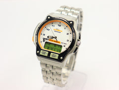 Timex Ironman Triathlon Indiglo Watch with Analog & Digital Combo Vintage/Brand New