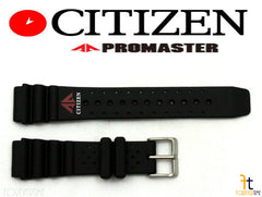 23mm Citizen Promaster 59-97541 Black Rubber Watch Band 4-F50361 / 4-S012848 / 4-F50352