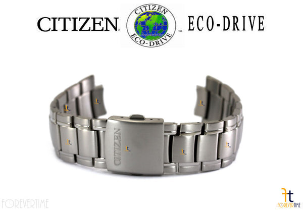 Citizen 59-S04772 Eco-Drive BM7170-53E Silver-Tone Titanium Watch Band BM7170-53L - Forevertime77