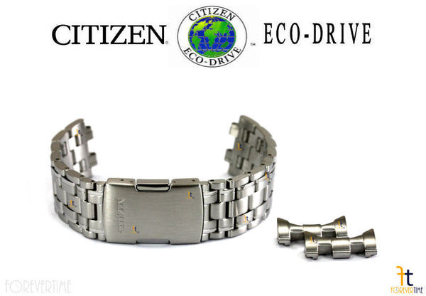 Citizen 59-S03968 Original Replacement Stainless Steel Watch Band Bracelet - Forevertime77