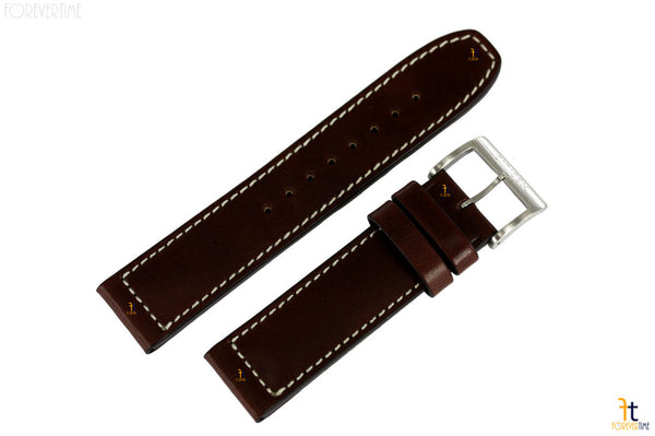 Citizen 59-S53290 Original Replacement 22mm Brown Leather Watch Band Strap - Forevertime77