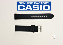 Casio WVA-M630B Wave Ceptor Black Woven Nylon Watch Band 20mm comes with 2 pins