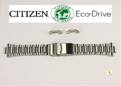 Citizen 59-S01090 Original 22mm Stainless Steel Watch Band 4-R009222, 4-S015693