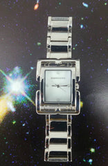 BCBG MAX AZRIA Watch Stainless Steel Rectangle Dial Mother of Pearl
