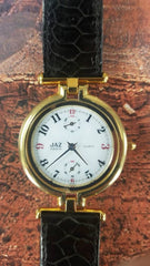 JAZ watch Ladies Gold Plated 1990's Vintage New