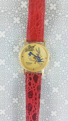 Bugs Bunny watch by ARMITRON (red band) LIMITED EDITION