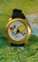 Aloha fashion watch (gold - matte)