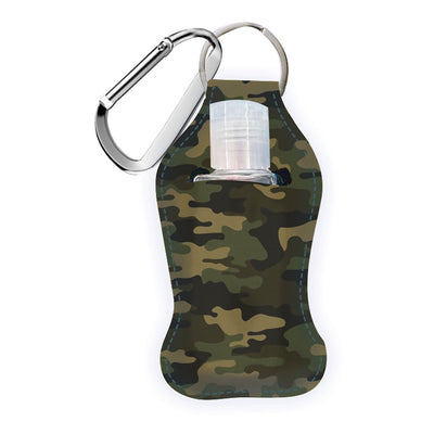Hand Sanitizer in Neoprene Case with Carabiner Clip