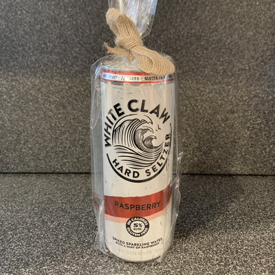 White Claw Raspberry Recycled Can Soy Candle