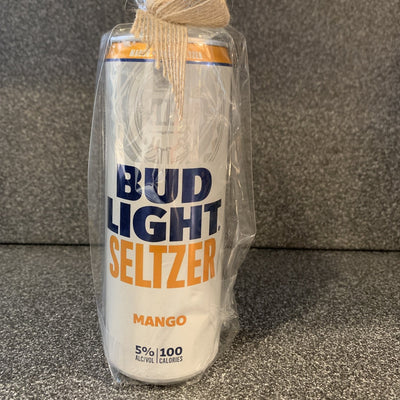 Bud Light Seltzer Mango Recycled Can Soy Candle