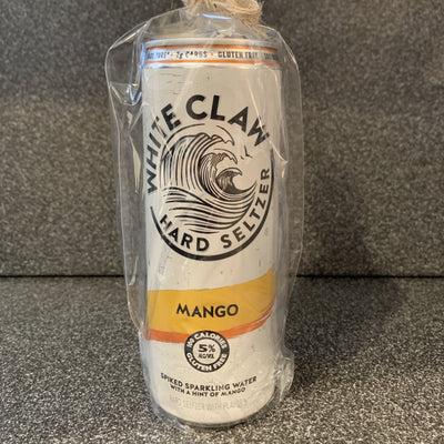 White Claw Mango Recycled Can Candle