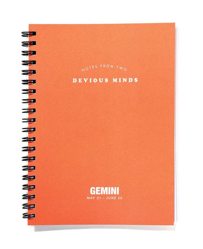 Zodiac Journals Gemini