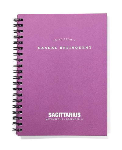 Zodiac Journal Sagittarius