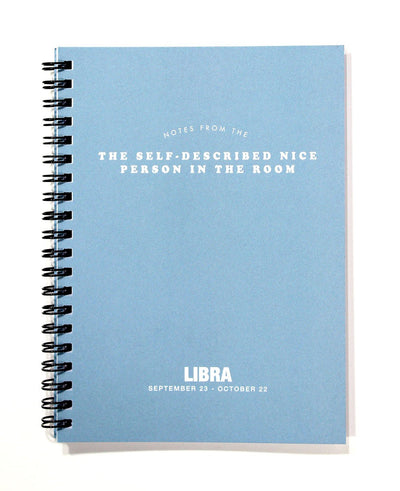 Zodiac Journal Libra