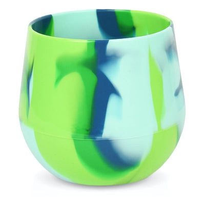 Silicone Rainbow Wine Cup