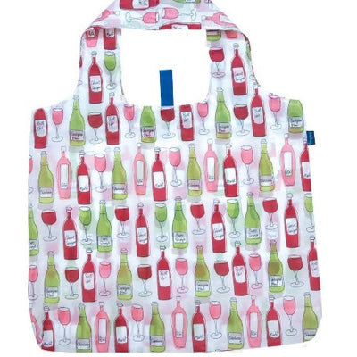 Blu Bags Reusable Shopping Tote Wine