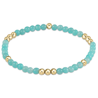 enewton Worthy Pattern 4mm Bead Bracelet Amazonite