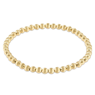 enewton Dignity Gold 4mm Bead Bracelet