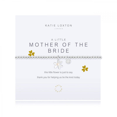 Mother of the Bride Beaded Bracelet