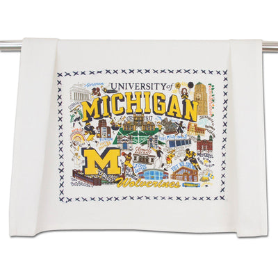Catstudio University of Michigan Collegiate Dish Towel