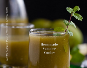 Homemade Summer Coolers