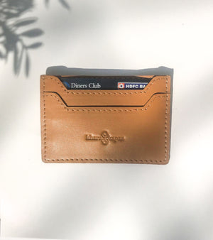Tan Card Holder