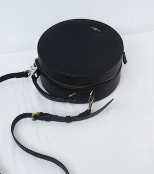 Black Full Moon Bag