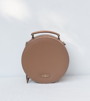 Toffee Full Moon Bag