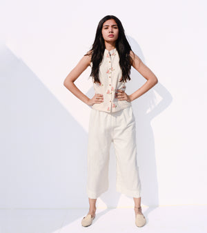 Off - White Culottes