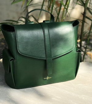 Emerald Green back pack
