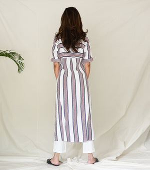 Jargon of Stripes Tunic Set